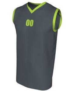 Canotta Basket Maschile Grafica Definita Personalizzabile - Stile 009