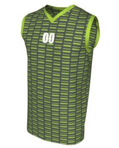 Canotta Basket Maschile Grafica Definita Personalizzabile - Stile 010