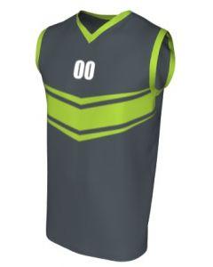 Canotta Basket Maschile Grafica Definita Personalizzabile - Stile 011