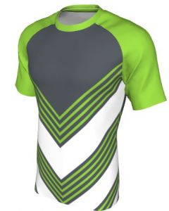 Maglia Rugby Grafica Definita Personalizzabile - Stile 001