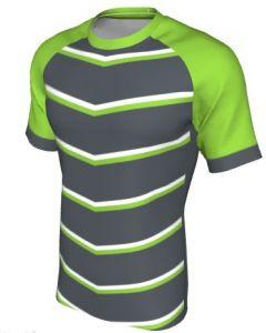 Maglia Rugby Grafica Definita Personalizzabile - Stile 014