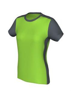 Maglia Fitness Femminile Grafica Definita Personalizzabile - Stile 000