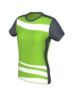 Maglia Volley Femminile Grafica Definita Personalizzabile - Stile 011